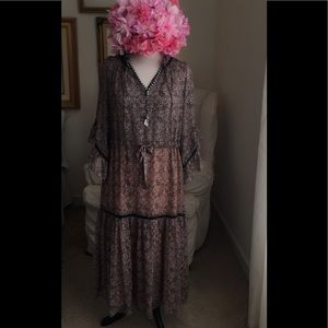 NWT Margaret OLeary Boho Dress Sz M